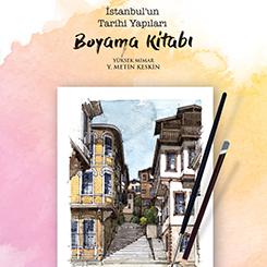 İstanbul'un Tarihi Yapıları Boyama Kitabı