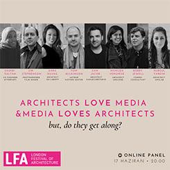 Anylab Soruyor: 'Mimarlar Medyayı Seviyor... Fakat?'