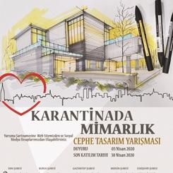 Karantinada Mimarlık Cephe Tasarım Yarışması Sonuçlandı
