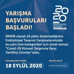 İMMİB Endüstriyel Tasarım Yarışmaları 2020