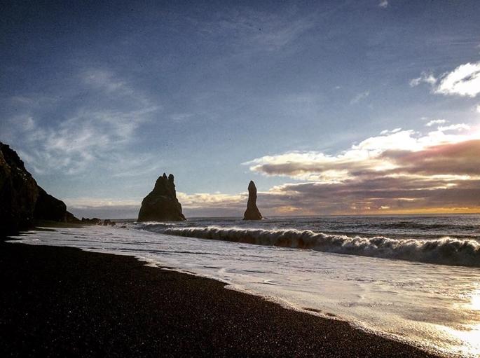 Reynisfjara, The Black Sand Beach, İzlanda