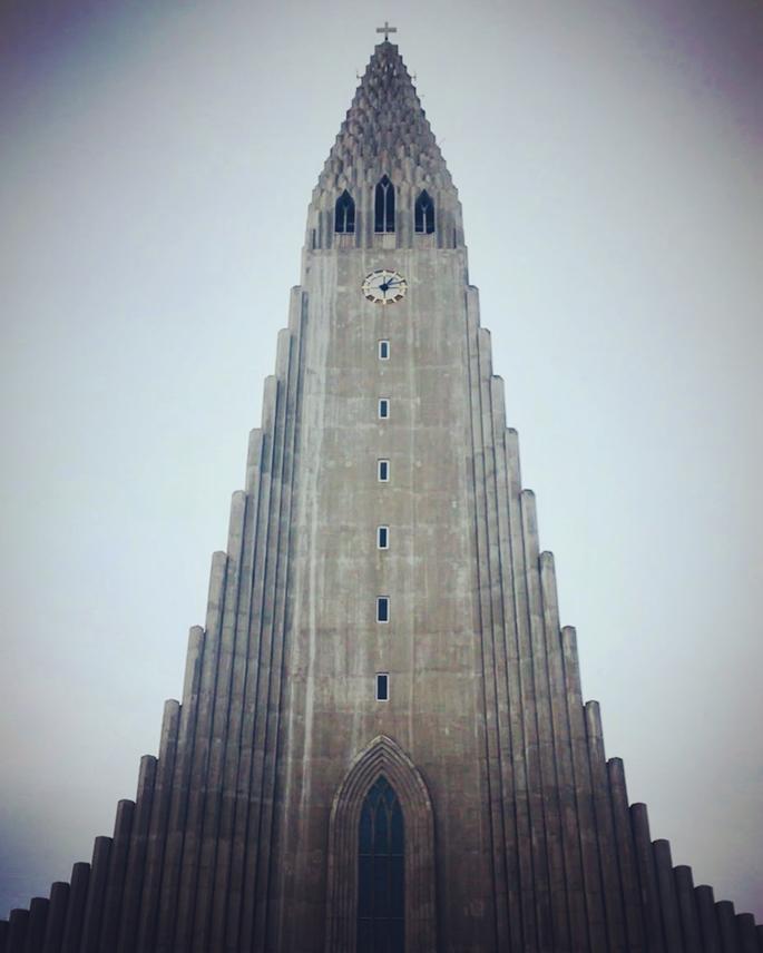 Hallgrimskirkja Kilisesi, Reykjavik, İzlanda