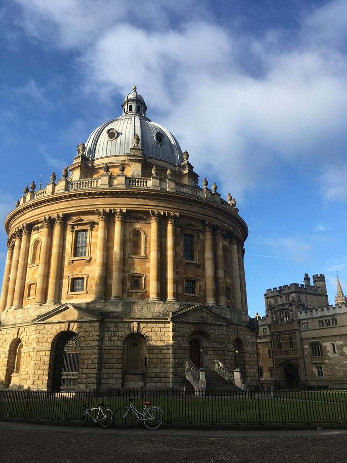Radcliffe Camera Kütüphane Binası, Oxford Üniversitesi, Oxford