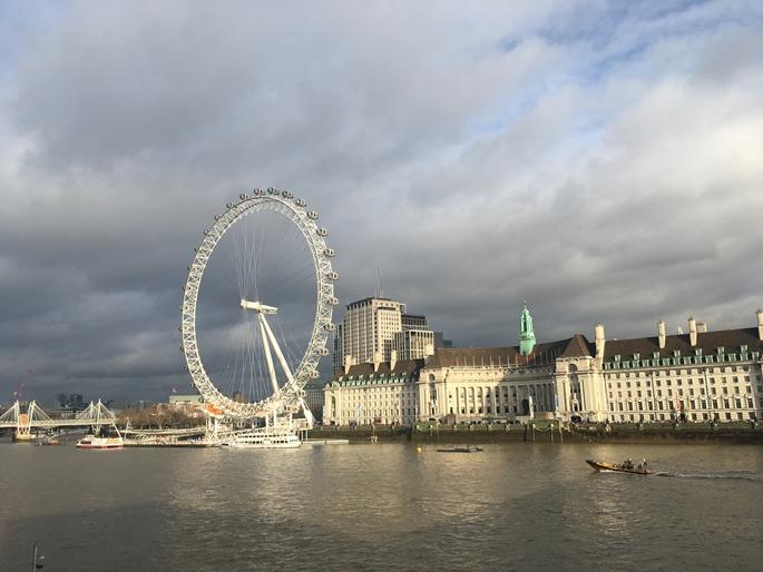 The London Eye, Westminster, Londra