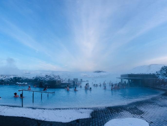 Blue Lagoon Termal Havuzu, İzlanda