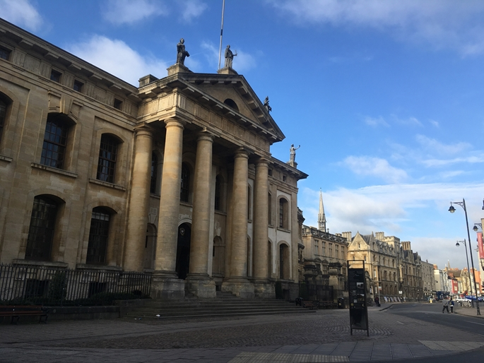 Oxford Universitesi Bodleian Kutuphanesi, Broad Street, Oxford