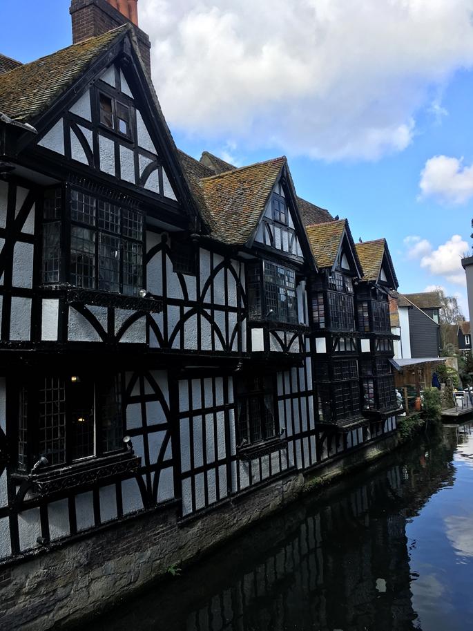 Canterbury Kasabası evler, İngiltere