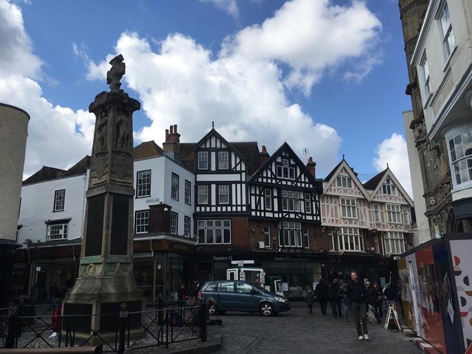 Canterbury Kasabası Meydanı, İngiltere