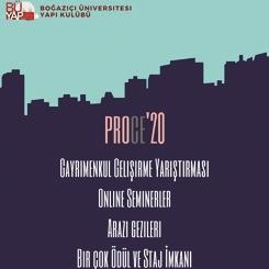 ProCE'20 Gayrimenkul Geliştirme Yarışması