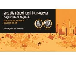 AURA İstanbul, 2020 Güz Dönemi Sertifika Programı Başvuruları Başladı