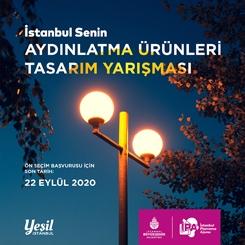 İstanbul Senin - Aydınlatma Ürünleri Tasarımı Yarışması