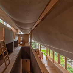 Hafif ve Dingin Bir Japon Evi