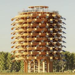 Sürdürülebilir Bir Gözlem Kulesi: 'Güneş Ağacı'