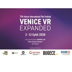 """İstanbul da """"Venice VR Expanded 2020""""nin Parçası Olacak"""