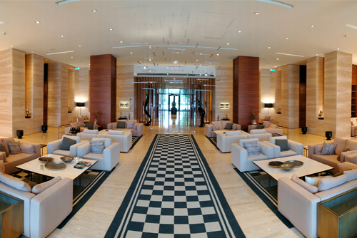 D Maris Bay Datça Peninsula Hotel Lobby ve Teras Projesi