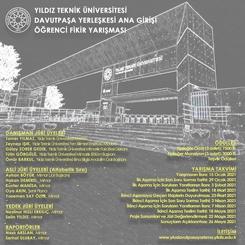 Yıldız Teknik Üniversitesi Davutpaşa Yerleşkesi Ana Girişi Öğrenci Fikir Yarışması