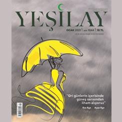 Dice Kayek Yeşilay Dergisi'nin Kapağında