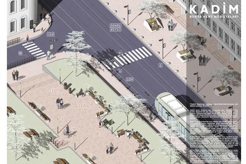 KADİM, 1. Mansiyon, Bursa Kent Mobilyaları Tasarım Yarışması