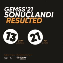 GEMSS'21 Sonuçlandı