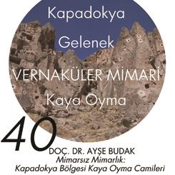 Beyazıt Seminerleri 40: Mimarsız Mimarlık - Kapadokya Bölgesi Kaya Oyma Camileri