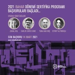AURA İstanbul 2021 Bahar Dönemi Sertifika Programı Başvuruları Başladı