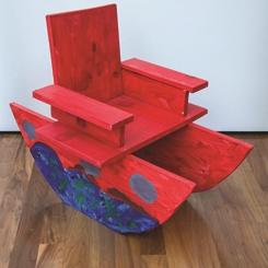 Çocukların Ürettiği Bir Sandalye Koleksiyonu