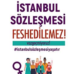 #istanbulsözleşmesiyaşatır