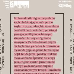 17. İstanbul Bienali Esin Kaynağı Açıklandı