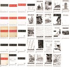 Mimarlık Dergisi'nin Eski Sayıları Tekrar Dijital Erişime Açıldı