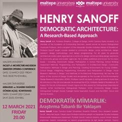 Henry Sanoff: Demokratik Mimarlık