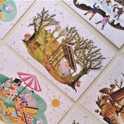 FREA x edcraftstudio Kartpostalları