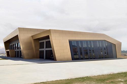 Niğde Ömer Halisdemir Üniversitesi Kapalı Spor Kompleksi