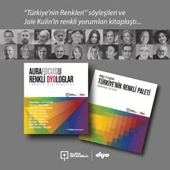 """""""Türkiye'nin Renkleri"""" Söyleşileri ve Jale Kulin'in Renkli Yorumları Kitaplaştı"""