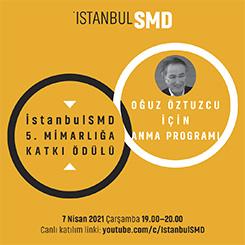 İstanbulSMD Mimarlığa Katkı Ödül Töreni