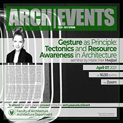 Gesture as Principle: Tectonics and Resource Awareness in Architecture