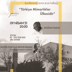 Türkiye Mimarlıklar Ülkesidir