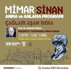Mimar Sinan'ı Anma ve Anlama Programı
