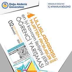 4. Uluslararası Nurten Aksugür En İyi Kavram İletişimi Öğrenci Yarışması