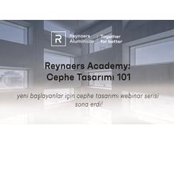 """'Reynaers Academy: Cephe Tasarımı 101"""" Sona Erdi"""