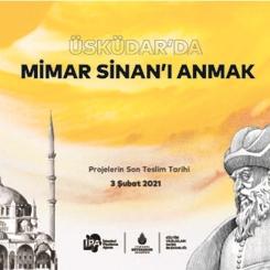 Üsküdar'da Mimar Sinan'ı Anmak