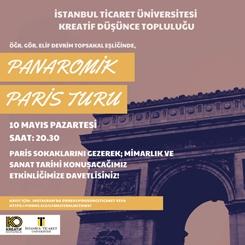 Panaromik Paris Turu
