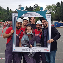 Altınbaş Üniversitesi Öğrencilerinin Çelik Köprüsü 'Albatros'a 2.lik Ödülü