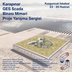 Karapınar GES SCADA Binası Mimari Proje Yarışma Sergisi Açıldı