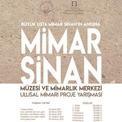 Mimar Sinan Müzesi ve Mimarlık Merkezi Ulusal Mimari Proje Yarışması Sonuçlandı