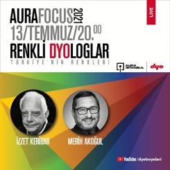 Renkli DYOloglar'ın İkinci Sezonu İzzet Keribar ve Merih Akoğul Söyleşisi ile Başladı