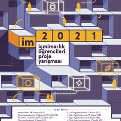 im2021 - İçmimarlık Öğrencileri Proje Yarışması