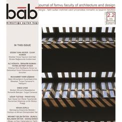 bab Journal of FSMVU Faculty of Architecture and Design: Makale Çağrısı