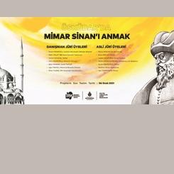 'Üsküdar'da Mimar Sinan'ı Anmak' Yarışmasının Halk Oylaması Devam Ediyor