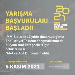 İMMİB 2021 Endüstriyel Tasarım Yarışmaları