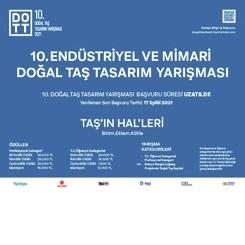 10. Endüstriyel ve Mimari Doğal Taş Tasarım Yarışması